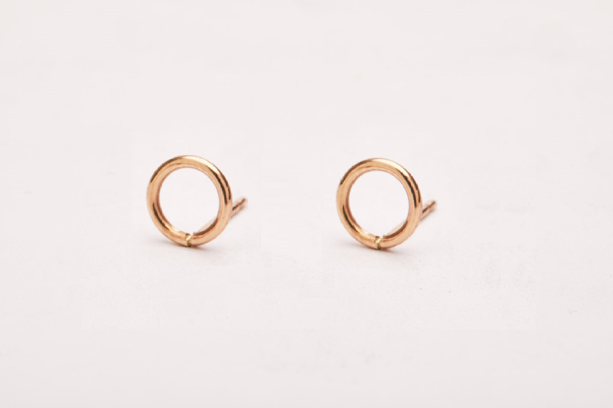 The Circle Stud Earrings