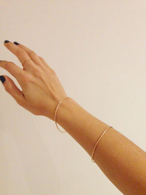 The Rose Gold Bangle