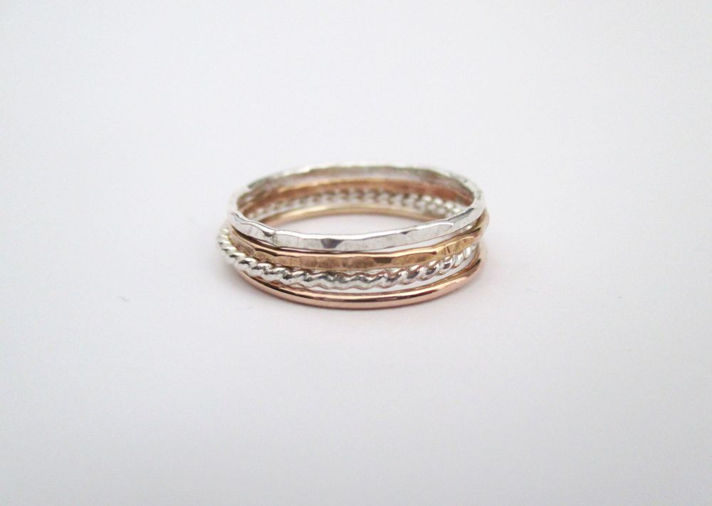 The Silver and Rose Stack