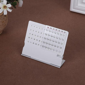 Aluminum 100 Years Desk Calendar