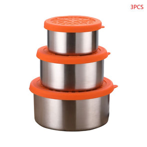 3pcs/set Stainless Steel Food Containers