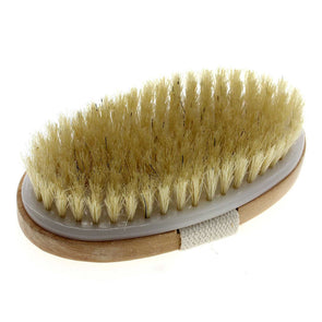 Natural Bristle Soft Clean Bath Brush