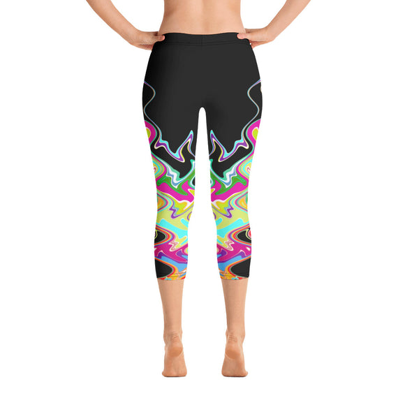 Wavelengths Capri Leggings