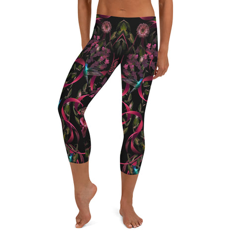 Go for Baroque Capri Leggings