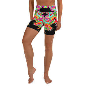 Wavelengths Yoga Bike Shorts