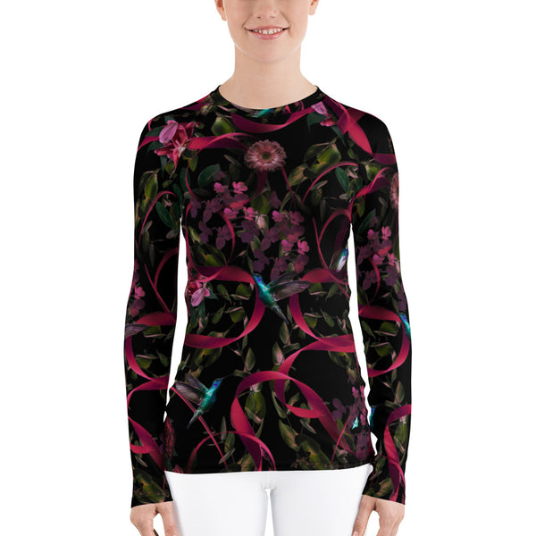 Go for Baroque Women's Fit Rash Guard