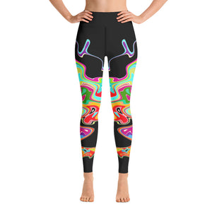 Wavelengths Yoga Leggings