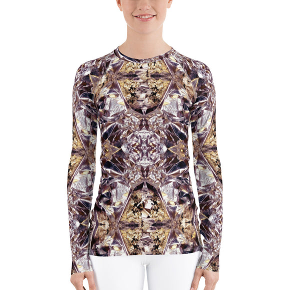 Multifaceted Women's Rash Guard