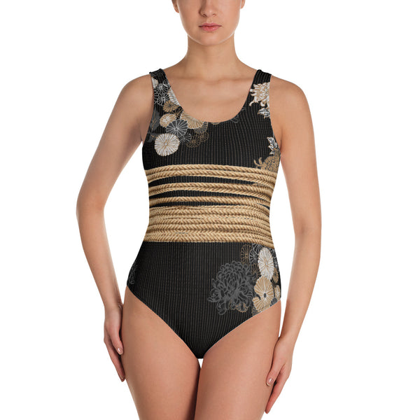 Boss Bound and Mum One-Piece Swimsuit Bodysuit
