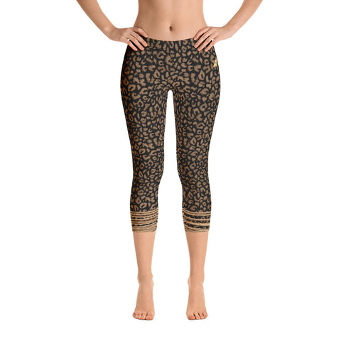 Bound to be Wild Capri Leggings