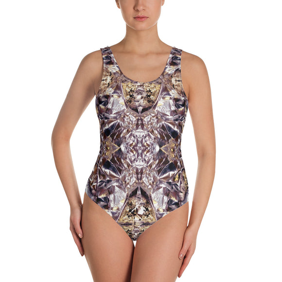 Multifaceted Amethyst Classic Swimsuit
