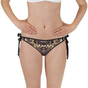 Goldirocks & Elevated Amethyst 2-in-1 Reversible Bikini Bottom
