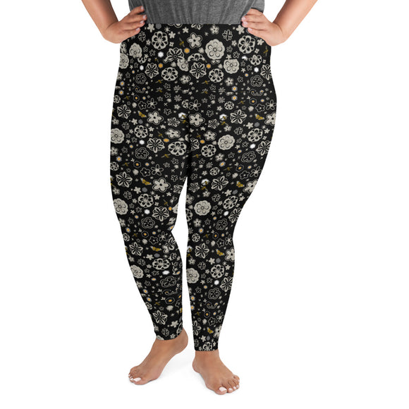 Millefiori Plus Size Leggings