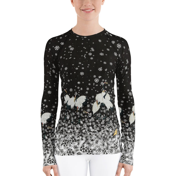 Snow Queen Long-Sleeve Rash Guard