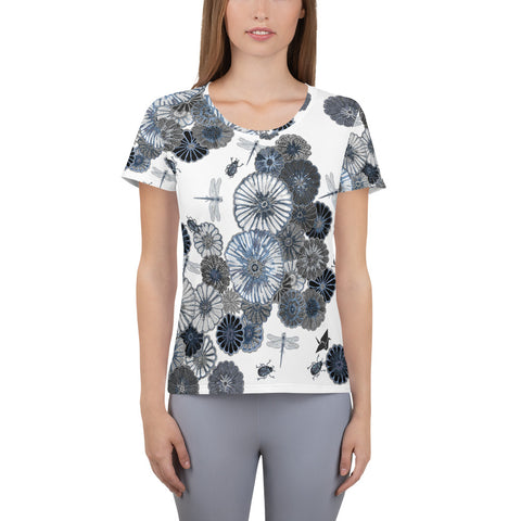 Wildflower Quick Dry Athletic T-shirt