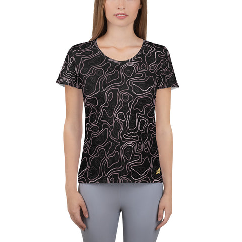 Elevated Amethyst Women's Quick Dry Athletic T-shirt