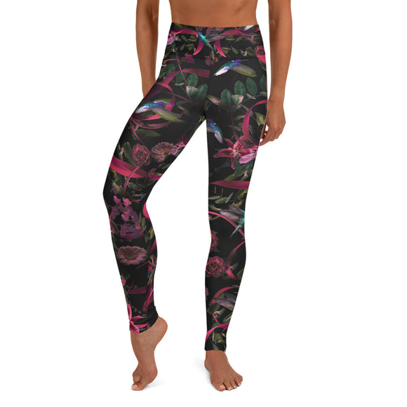 Go for Baroque Yoga Leggings