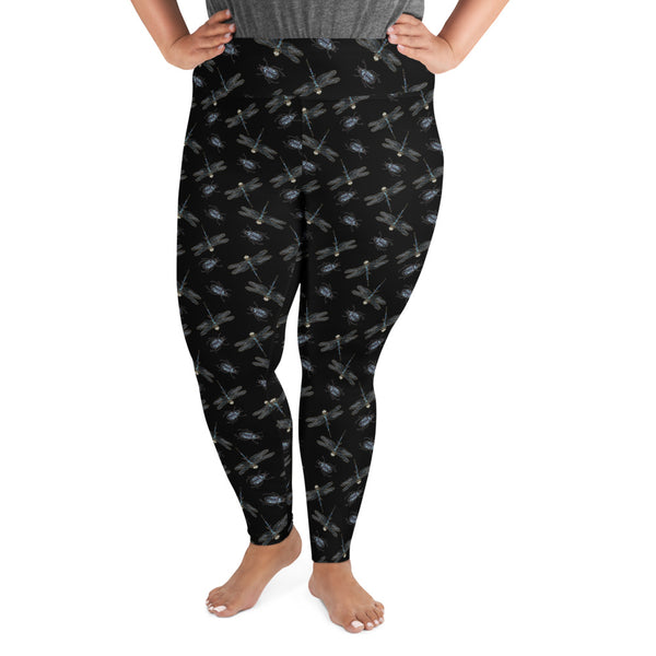 Paua Insects Plus Size Leggings