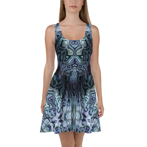 Paua Power Skater Dress