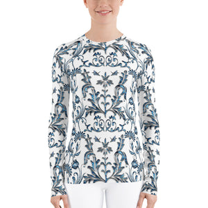 Pretty Pauaful Rash Guard