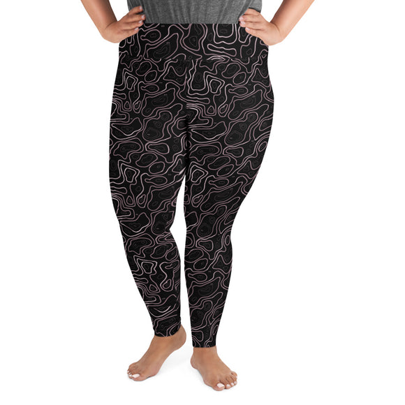Elevated Amethyst Plus Size Leggings
