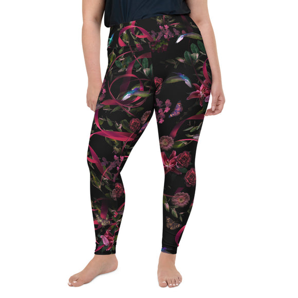 Go for Baroque Plus Size Leggings