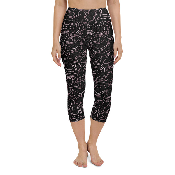 Elevated Amethyst Yoga Capri Leggings
