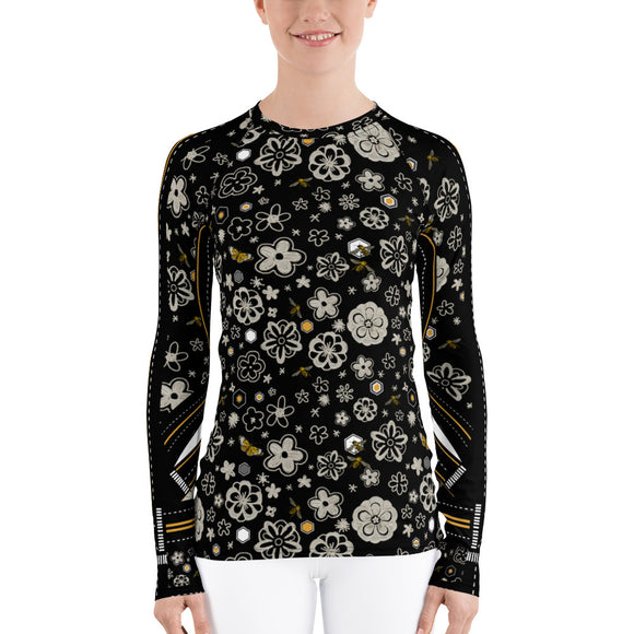 Millefiori Women's Fit Rash Guard