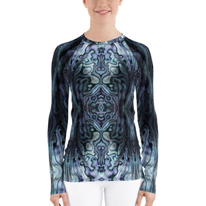 Paua Power Rash Guard