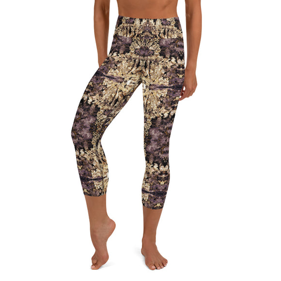 Goldirocks Yoga Capri Leggings