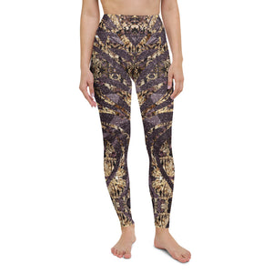 Multifaceted Amethyst Yoga Leggings