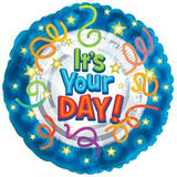 BALLOON IT'S YOUR DAY 5PC PKG