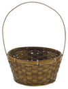 8  ROUND WHITE BASKET W/H W/L EACH