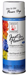 JUST FOR FLOWERS DELPH BLUE CAN