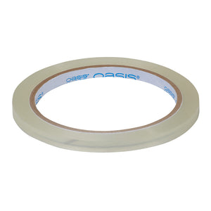 OASIS  TAPE 1/4 in  CLEAR   ROLL EACH