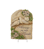ALWAYS IN OUR HEART PLAQUE EACH