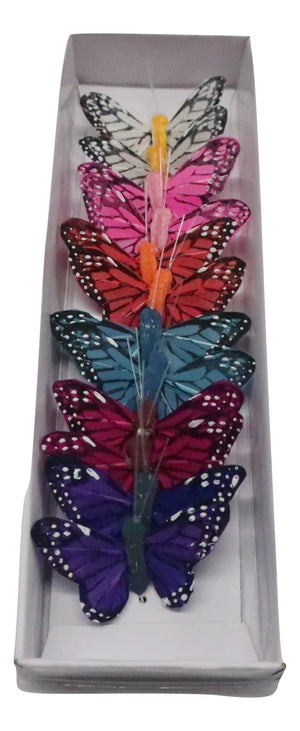 2 BUTTERFLY ASSORTED  12PC