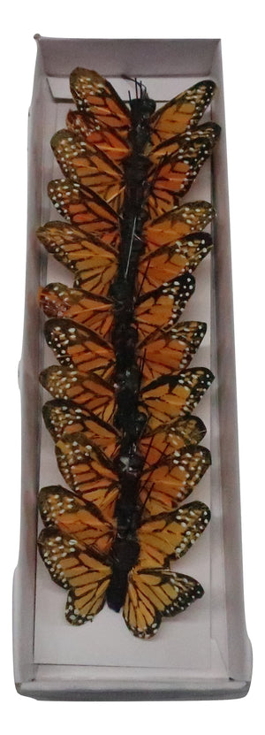 2 BUTTERFLY MONARCH 12PC