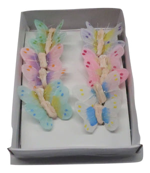 0.5in BUTTERFLY PASTEL 12PC