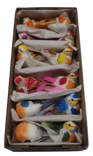 3.75 FEATHER BIRD ASSORTED
