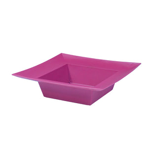 SQUARE BOWL STRONG PINK  EACH