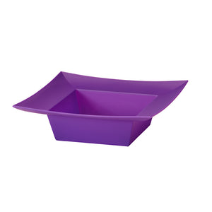 SQUARE BOWL PURPLE   !!! SOLD BY EACH