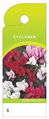 CARE TRIM TAGS CYCLAMEN       100PC PK