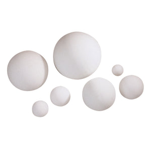 8in  BALL STYROFOAM WHITE   EACH