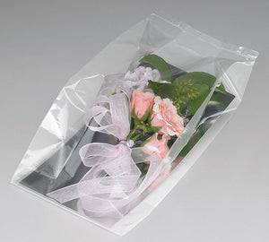 LARGE POLY CORSAGE BAG 6X4X14.75 BOX