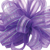 3 ILISSA RIBBON PURPLE 25YD EACH