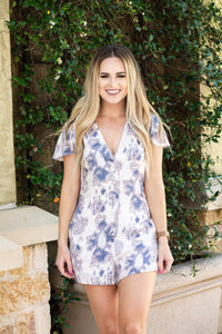 Indigo June Romper