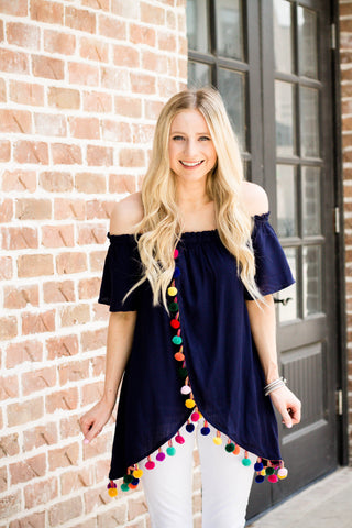 Shake Your Pom Pom Tunic