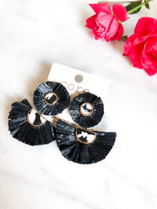 Black Willow Earrings