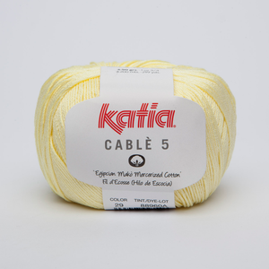 Katia Cable5 29 keltainen